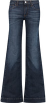 Eight Mid-rise flared jeans