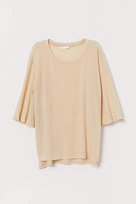 H&M Lyocell-blend top