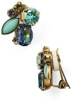 Sorrelli Swarovski Crystal Clip-On Earrings