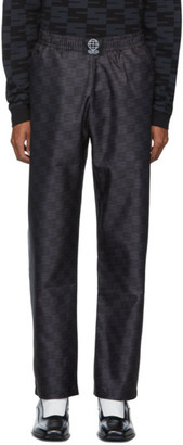 SSS World Corp Black Elastic Waist Trousers