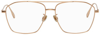 Christian Dior Rose Gold Aviator Stellaire014F Glasses