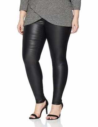 ONLY Carmakoma NOS Women's carPUNK REG SK Coated Pants Skinny Jeans