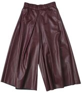 MM6 MAISON MARGIELA Eco-leather Cropped Trousers