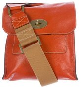 Mulberry Textured Leather Crossbody Bag