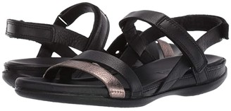 Ecco Flash Ankle Strap Sandal (Alu Silver/Apricot/Rose Dust) Women's Sandals