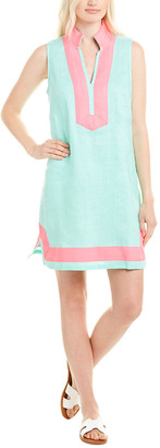 Sail to Sable Linen Shift Dress