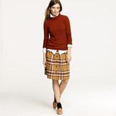 Flair skirt in plaid