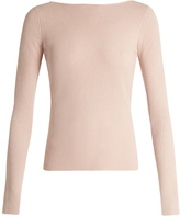 Elizabeth and James Fay tie-back long-sleeved top
