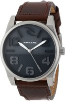 Rip Curl Men's A2573 - NAV Flyer Leather Fashion Lifestyle Watch