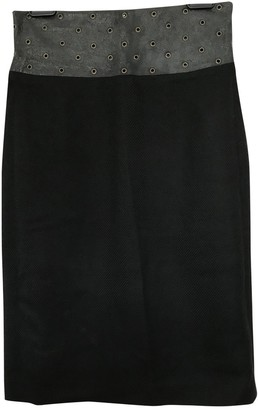 Versus Black Wool Skirt for Women