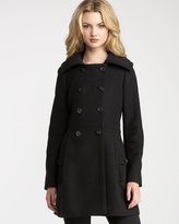 Goth Couture Wool Coat