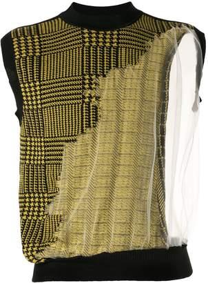 Cmmn Swdn Fedde jacquard knitted vest