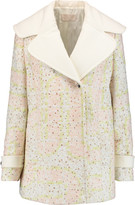 Peter Pilotto Labyrinth jacquard coat