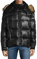 S13/Nyc Quilted Faux Fur Puffer Jacket