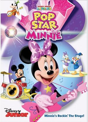 Disney Mickey Mouse Clubhouse Pop Star Minnie DVD