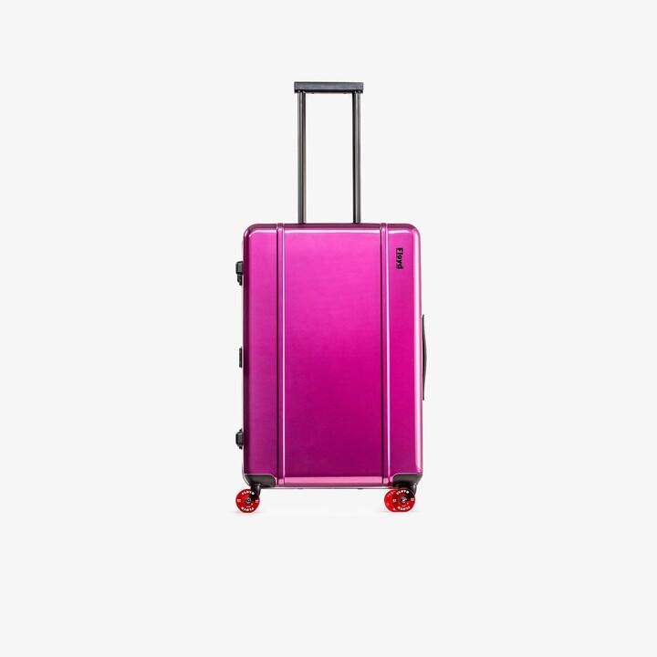 Floyd Magic Purple Check-In Suitcase