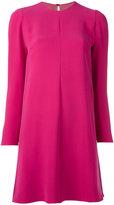 Valentino A-line dress - women - Silk/Polyamide/Spandex/Elastane - 42