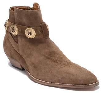 Topman Mercury Strap Suede Ankle Boot