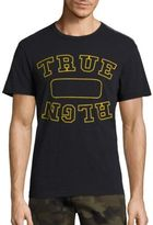 True Religion Locker Logo Cotton Tee