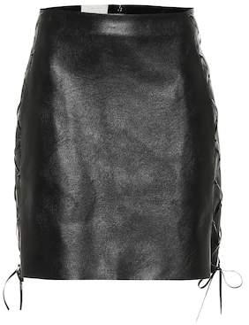 Stella McCartney Faux leather miniskirt