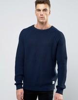 Bellfield Lighteight Fisherman Knitted Sweater