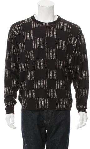 Dolce & Gabbana Castle Pattern Virgin Wool Sweater w/ Tags