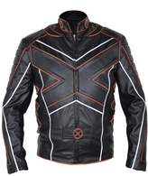 MSHC Men's X-Men Big X Faux Leather Jacket