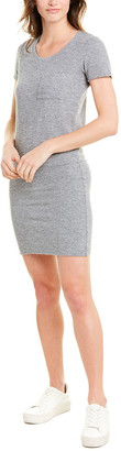 Monrow Granite Thermal T-Shirt Dress