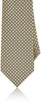 Barneys New York Men's Interlocking-Ring-Print Silk Necktie