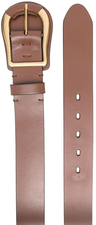 Thumbnail for your product : Zimmermann Buckled Leather Belt