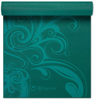 Gaiam Premium 5mm Print Yoga Mat