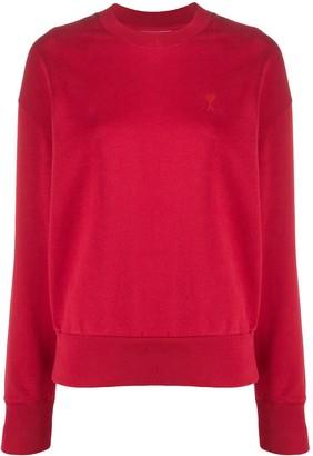 AMI Paris Ami de Coeur long-sleeved sweatshirt