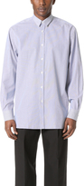 Calvin Klein Collection Halo Striped Shirt