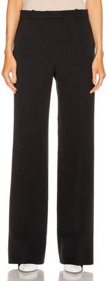 Givenchy Bootcut Structured Pant in Black | FWRD