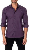 Jared Lang Gingham Semi-Fitted Shirt