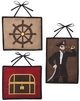 JoJo Designs Jo Jo Designs Sweet Treasure Cove Pirate Wall Hangings