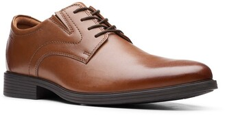 Clarks Whiddon Plaid Toe Oxford - Wide Width Available