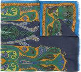 Etro paisley printed scarf