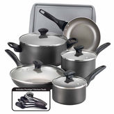 Farberware 15-pc. Aluminum Cookware Set