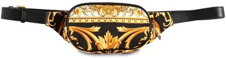 Versace Heritage Canvas Belt Bag
