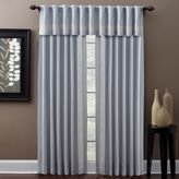 Croscill Trapeze Rod Pocket/Back Tab 95-Inch Window Curtain Panel in Denim
