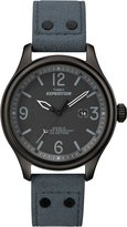 Timex Sport & Outdoor Men's Quartz Watch with Black Dial Analogue Display and Blue Strap T49937SU