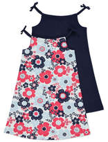 George High Neck Sleeveless Dresses 2 Pack