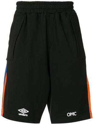 OMC x Umbro Leader track shorts
