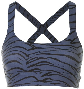The Upside Paola tiger-print sports bra
