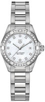 Tag Heuer Ladies Aquaracer Stainless Steel and Diamond Watch WAY1414BA092
