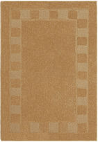 JCPenney Brumlow Border Squares Washable Rectangular Rug