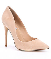 Steve Madden Daisie Pointed Toe Suede Pumps