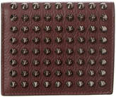 Christian Louboutin Paros Studded Leather Coin Bifold Wallet