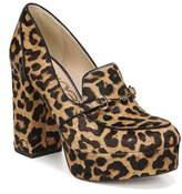 Sam Edelman Aretha Genuine Calf Hair Platform Loafer Pump